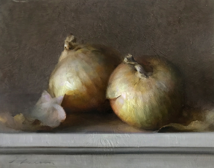 "(SOLD) Jeff Larson ""Yellow Onions"""