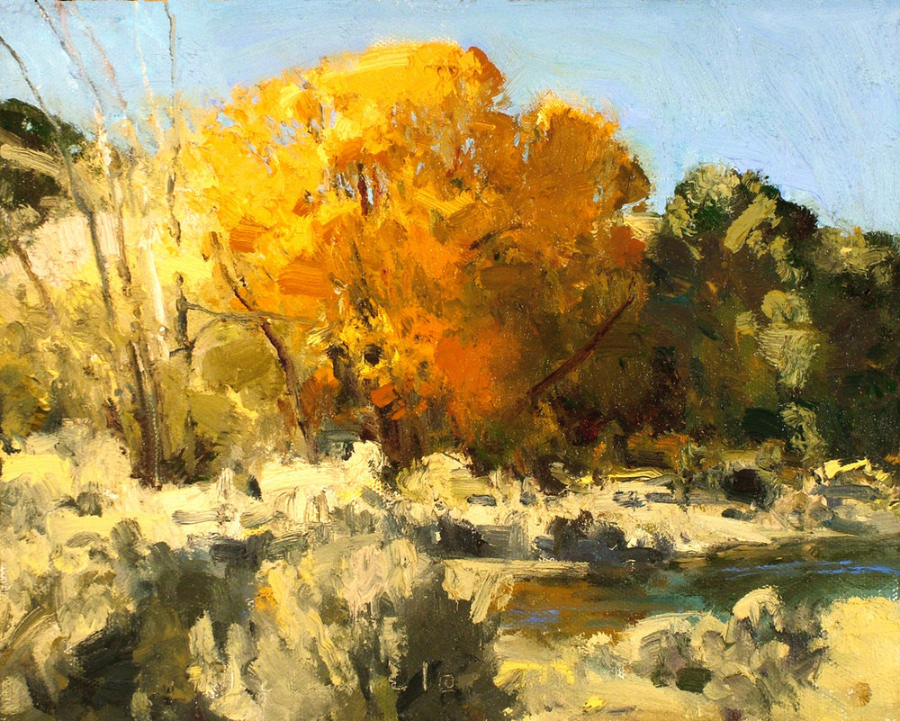 "(SOLD) Len Chmiel ""Showy Fremont Cottonwood"""