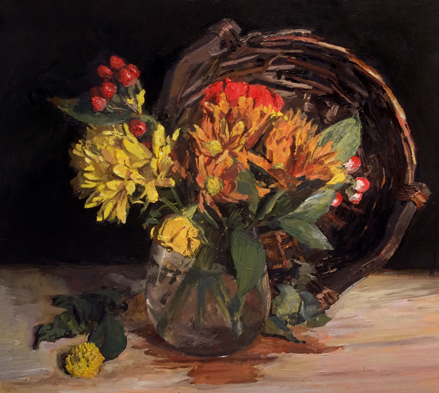 "Rachel Personett - ""Autumn Flowers"""