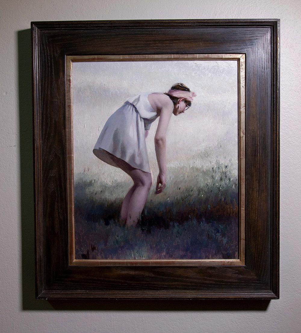 """(Framed) """"Wonder"""" 24""""x20"""" Oil"""