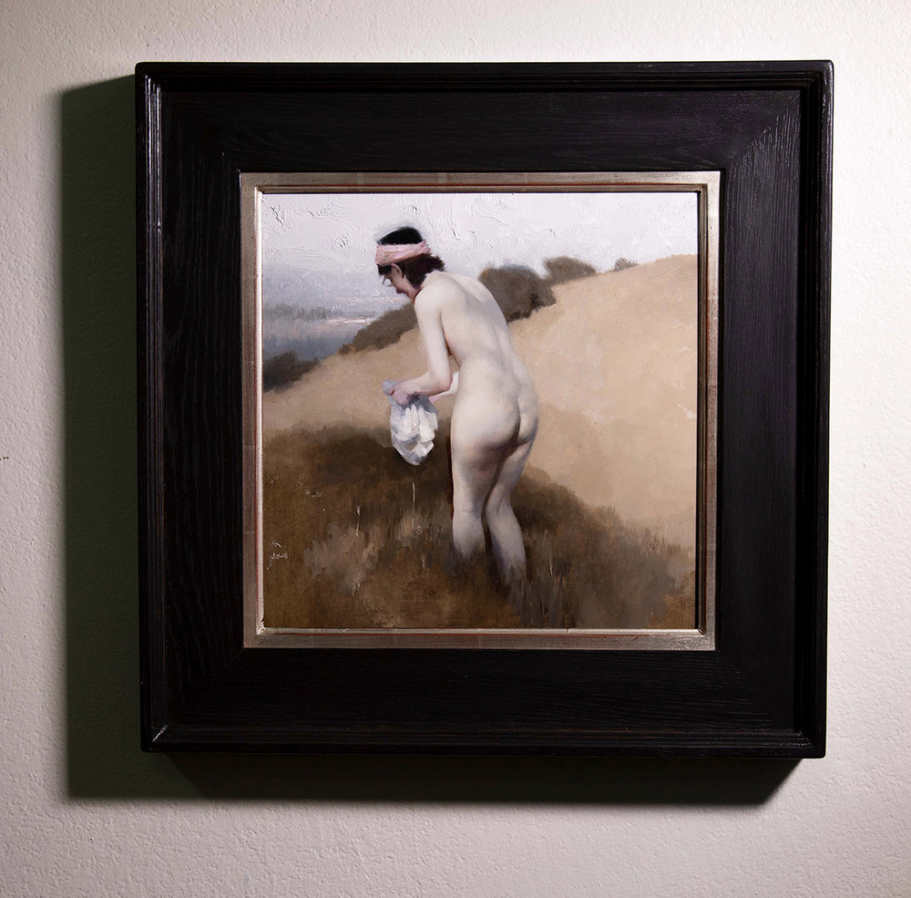 "(Framed) ""Escape"" 16""x16"" Oil"