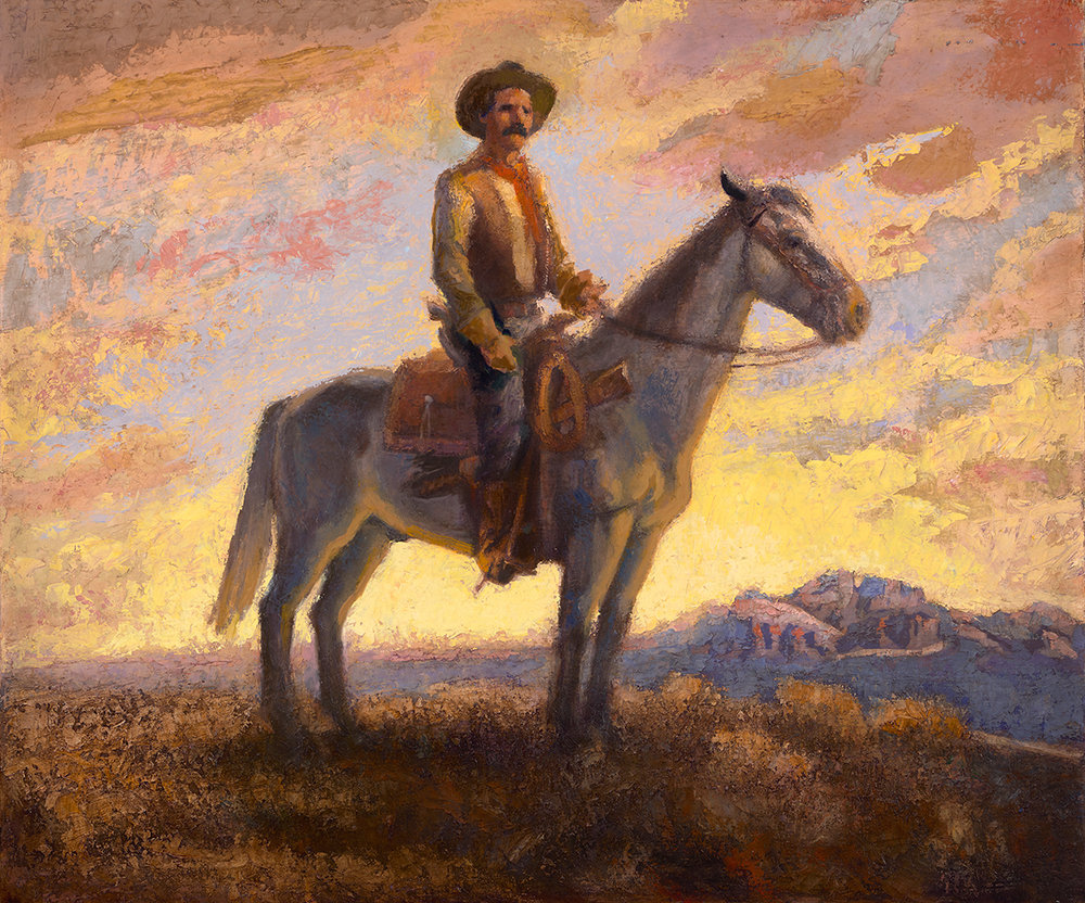 "Gary Ernest Smith ""Ranger"" 30""x36"" Oil"