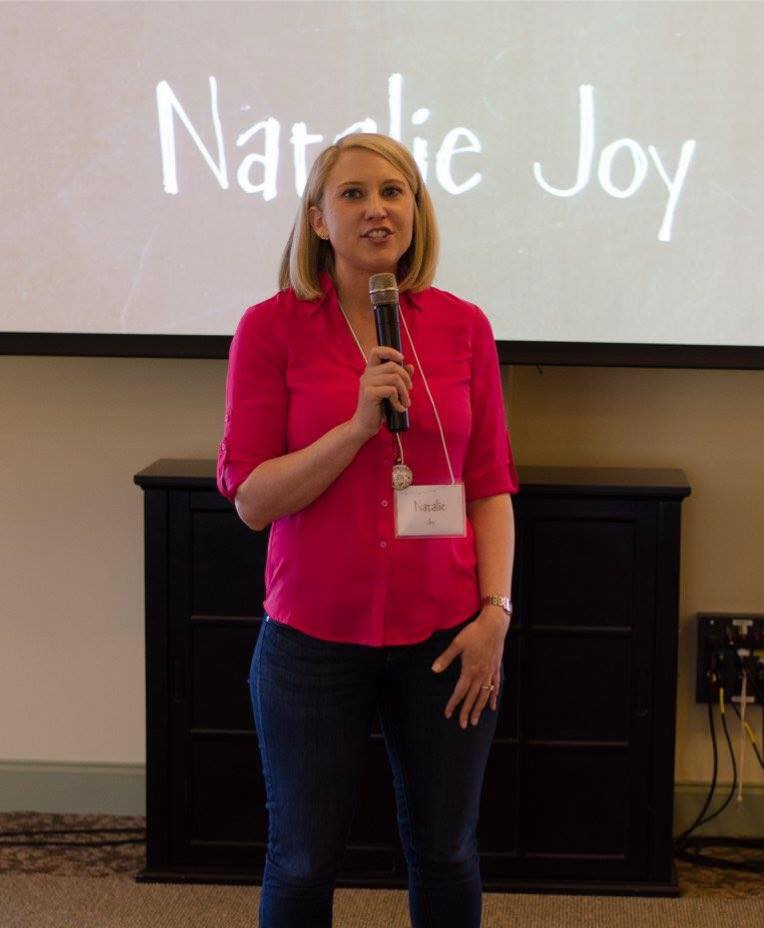 Natalie Joy Speaking For Winsome Retreat