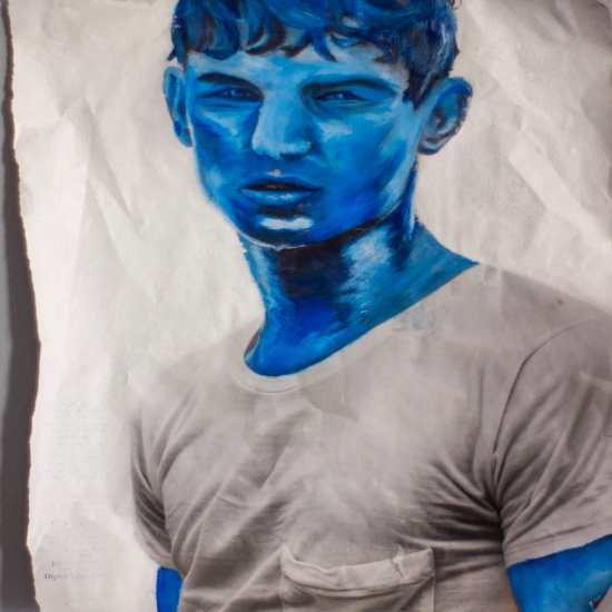Vogue Homme en Bleu