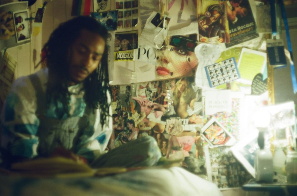 Paix in his studio, Harlem (2106) Photograhy by Micheal Pitter