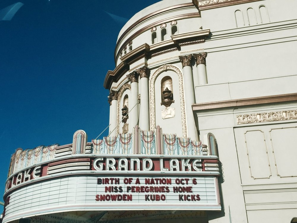 Grand Lake Theatre, Oakland, CA (2016)