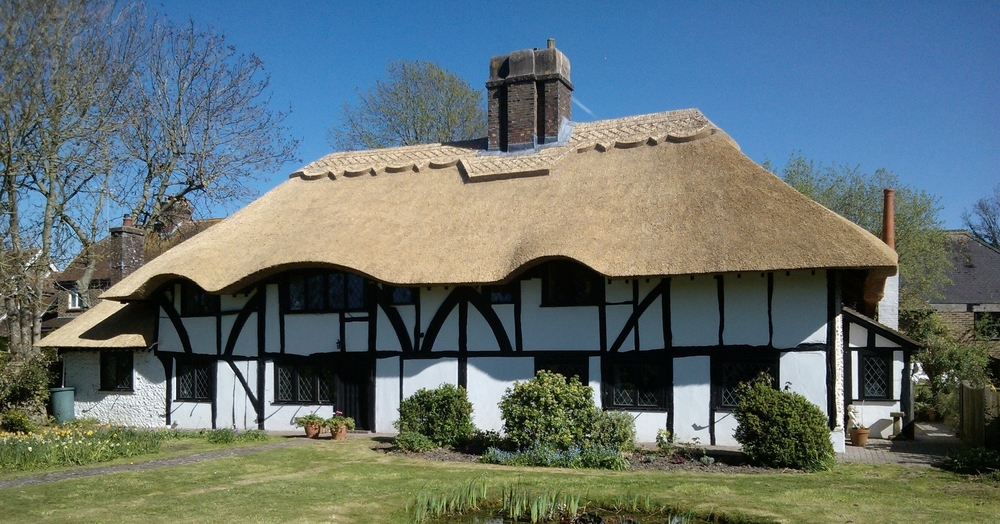 Re-thatch in east sussex