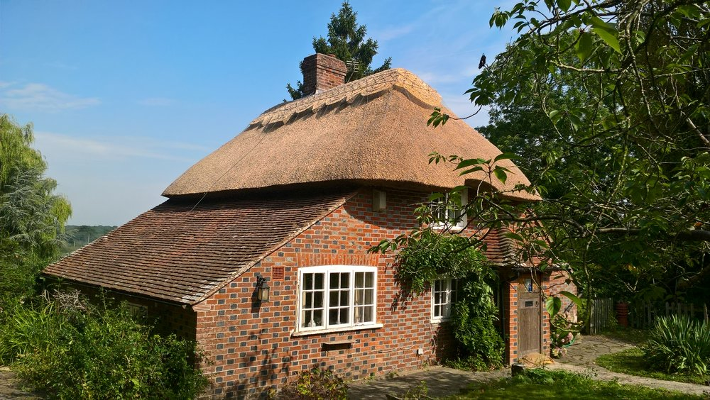 thatched cottage in east sussex