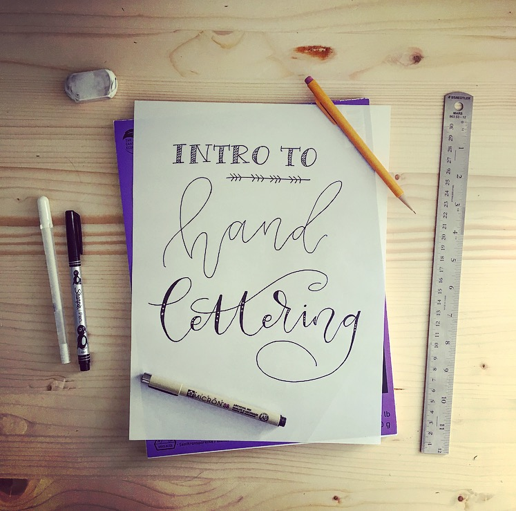 Intro to Hand Lettering Course