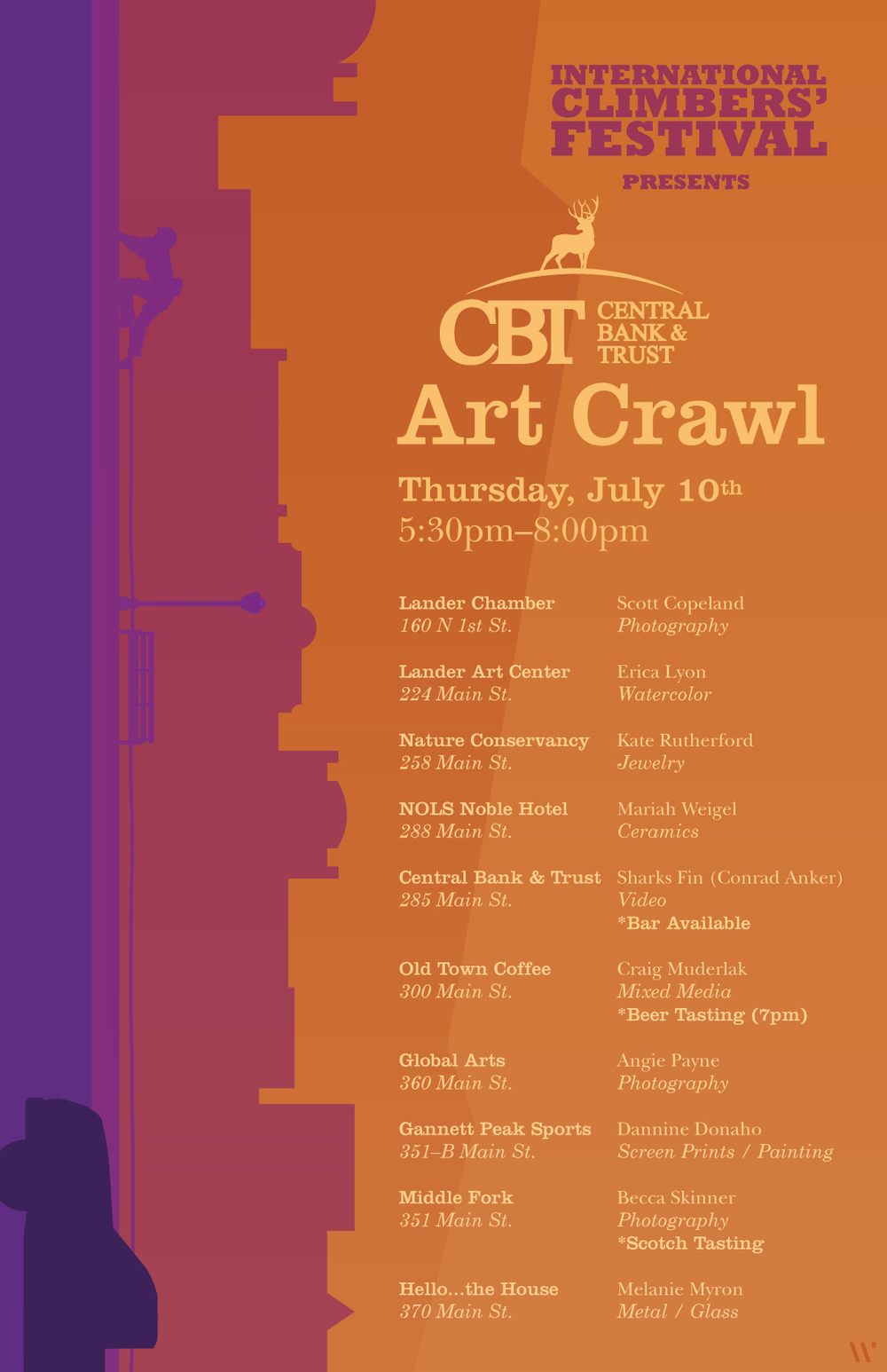 Lander Art Crawl