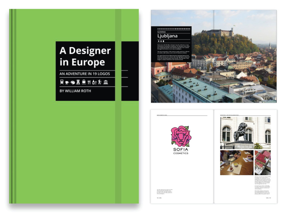 My Book,   A Designer in Europe