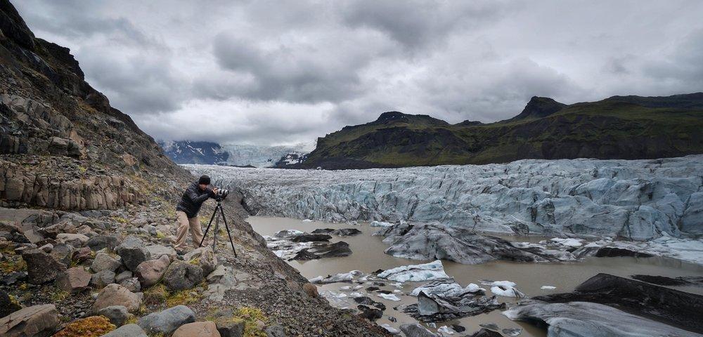 Kevin Shahinian | Svinafallsjokull, Iceland