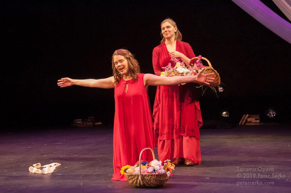 Bianca,  The Rape of Lucretia,  Tacoma  Opera