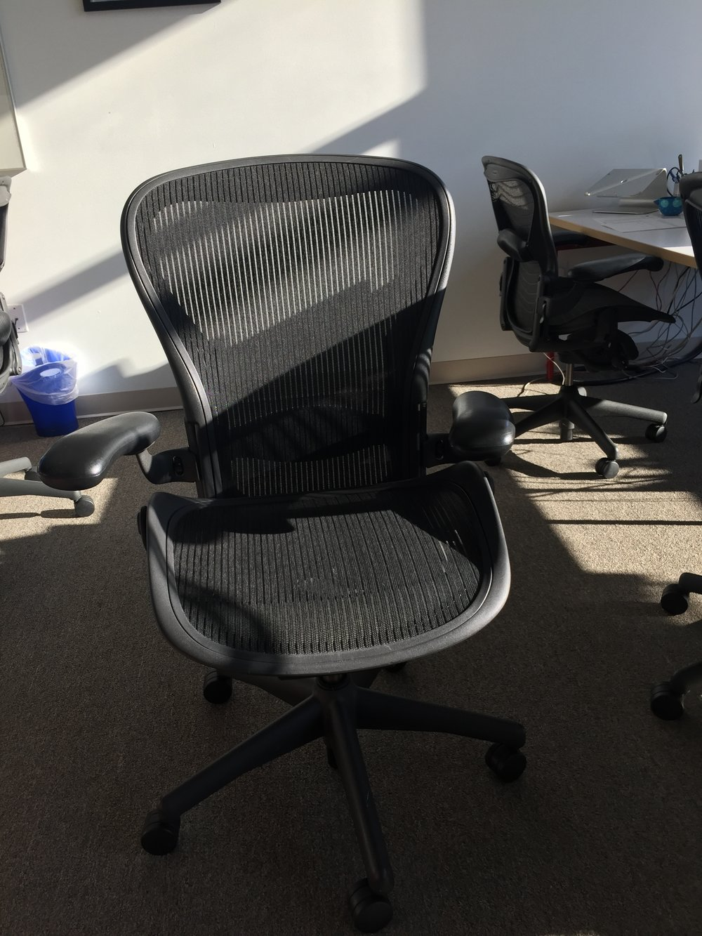 Herman Miller Aeron Chair - 5 available, Size B (most common size), $250 each