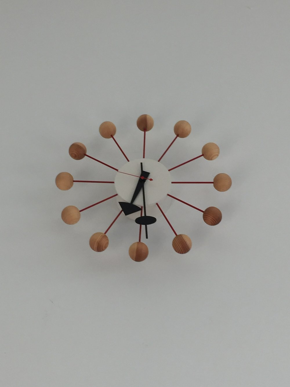 George Nelson Wall Clock by Vitra - 2 available, $300 each