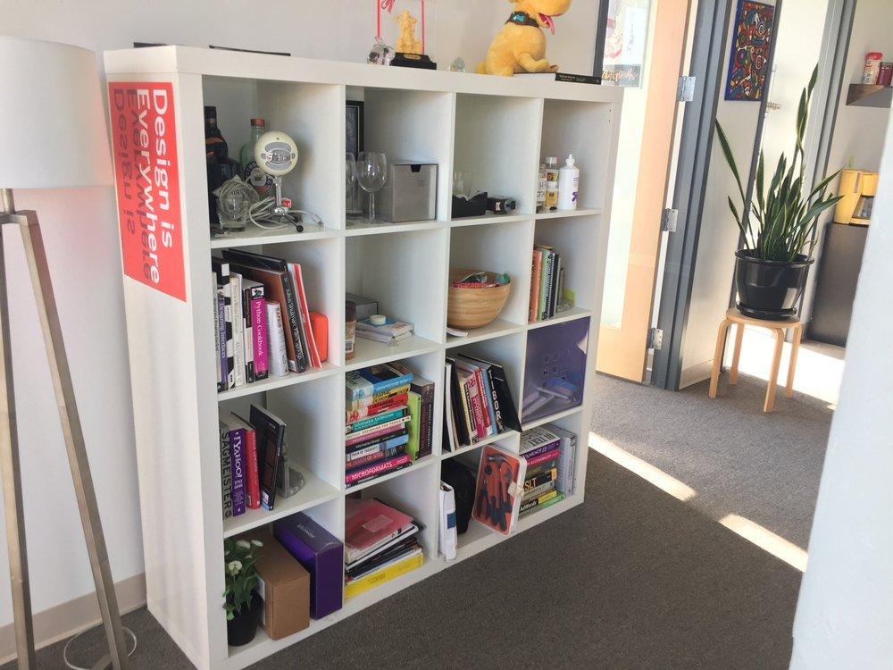 IKEA 4x4 bookshelf - $50