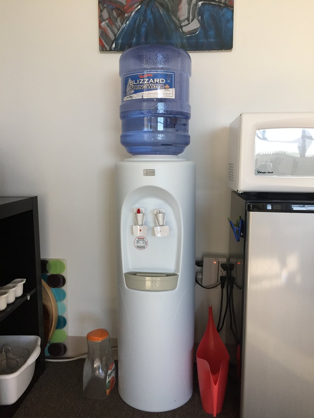 Water Dispenser Hot/Cold - $50