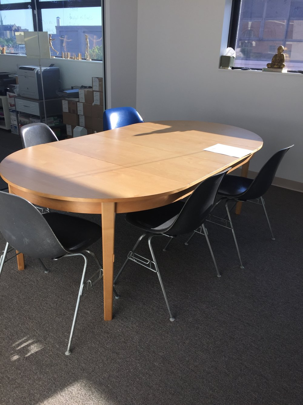 Conference Table w/2 leaves - $100