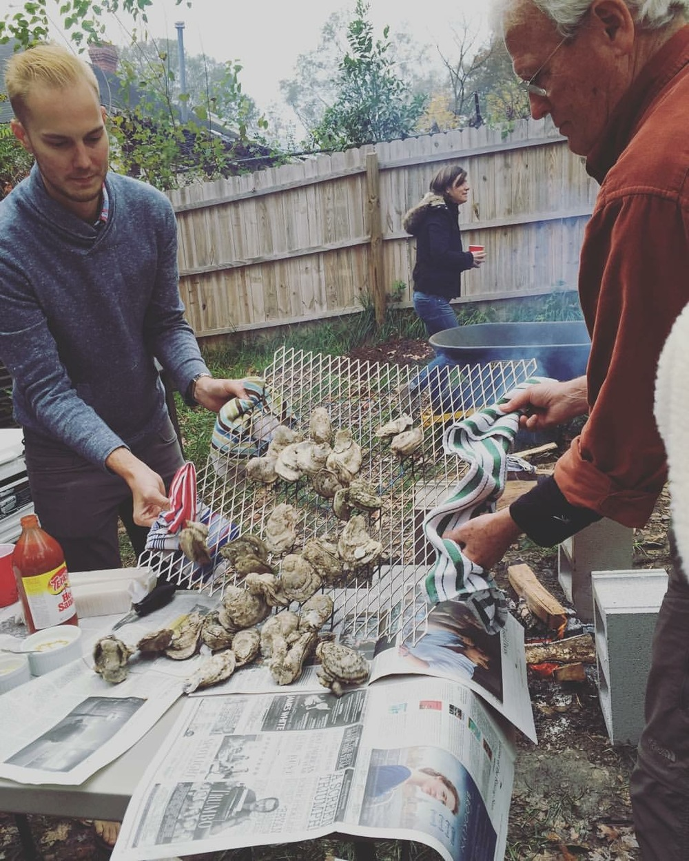 School of Home | How To Throw An Oyster Roast