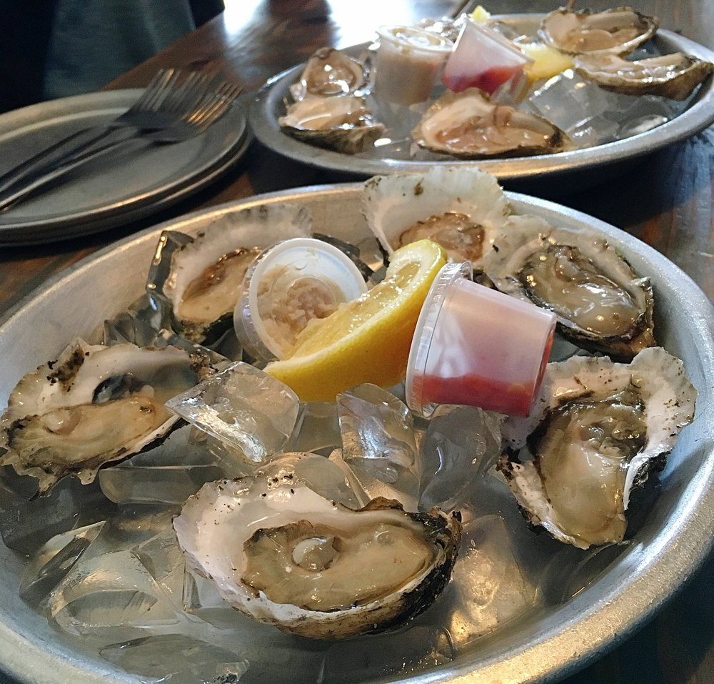 Oysters are allowed, thank goodness!