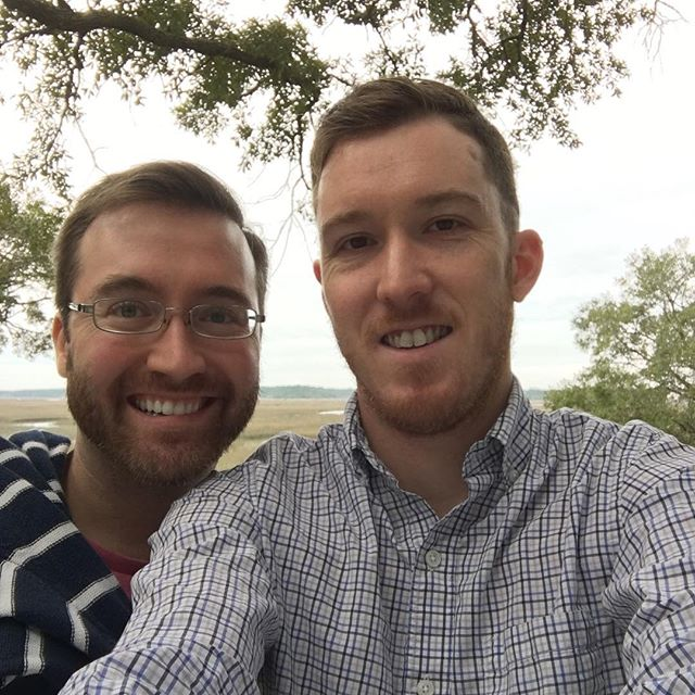 Two years ago we officially started dating. About one year ago we got engaged. A little less than a year from now we'll be married. Our wonderful, amazing, incredible journey keeps rolling along. 😍👬💍 ... ... ... ... #anniversary #love #gaylove #travel #wanderlust #gaytravel #igtravel #travelcouple #celebrate #wedding #weddingplanning #throwback #picoftheday #travelblogger