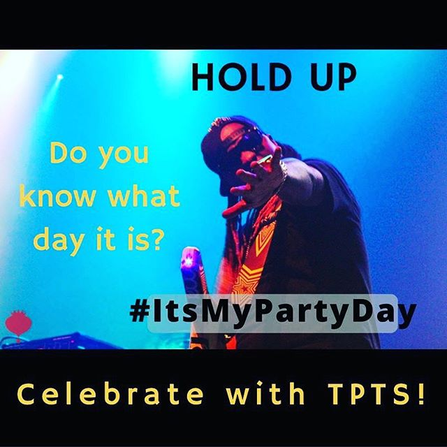 You know we always bring the party! #ItsMyPartyDay