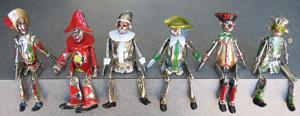 Berman cast sterling silver figures