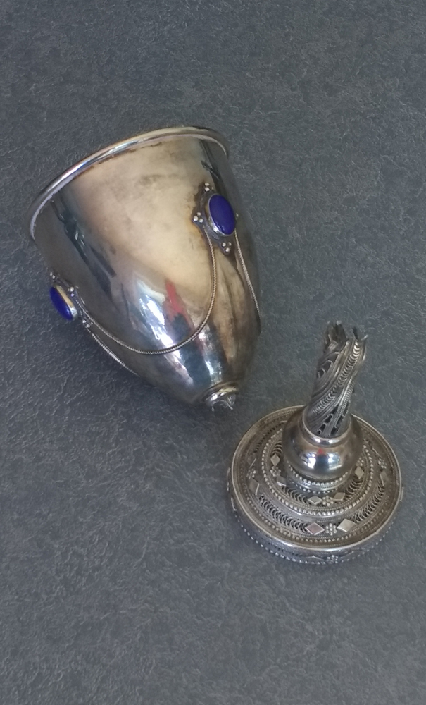 Broken Kiddush Cup