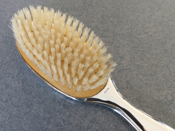 sterling silver brush replaced with new brush