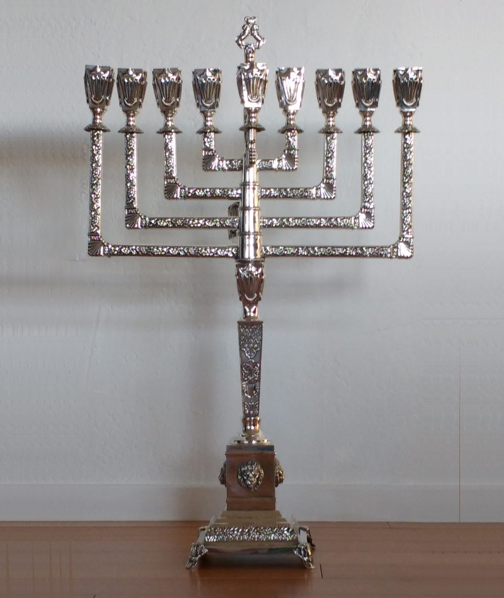 Menorah repairs, restoration and polishing