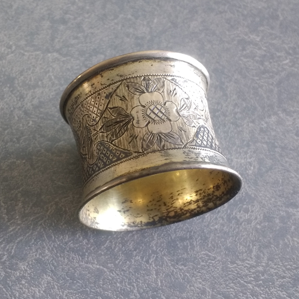 Antique german napkin ring