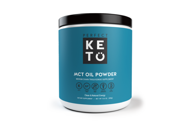 MCT Oil Powder - You know how I'm always talking about using healthy fats? This is one of them! MCT (medium chain triglycerides) are a type of fat that's used readily for energy and not stored easily as fat. It helps keep you full and supports healthy hormones.