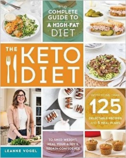 Keto Cookbook - The Keto Diet book was my bible while I did keto. I love Leanne's take on keto, she includes lots of whole healthy foods making this a sustainable way of eating, rather than a bacon & butter diet.