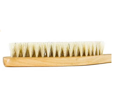 Dry Brush - Speaking of soft skin, rubbing your body with this bristly dry brush before a shower is a must for your winter beauty routine. It gets rid of dead skin cells and can even help with cellulite! My routine: dry brush, shower, moisturize or use oil after my shower.