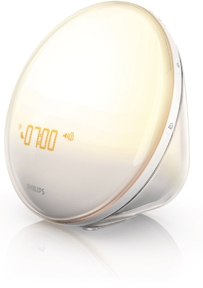 Sunrise Alarm - If you're like me, getting out of bed when it's pitch black out is not easy. A sunrise alarm clock simulates a sunrise and gradually gets brighter and brighter until you wake up. This one is at the top of my wish list this year!