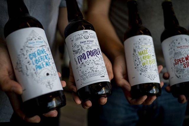 Beer labels are lookin' good!