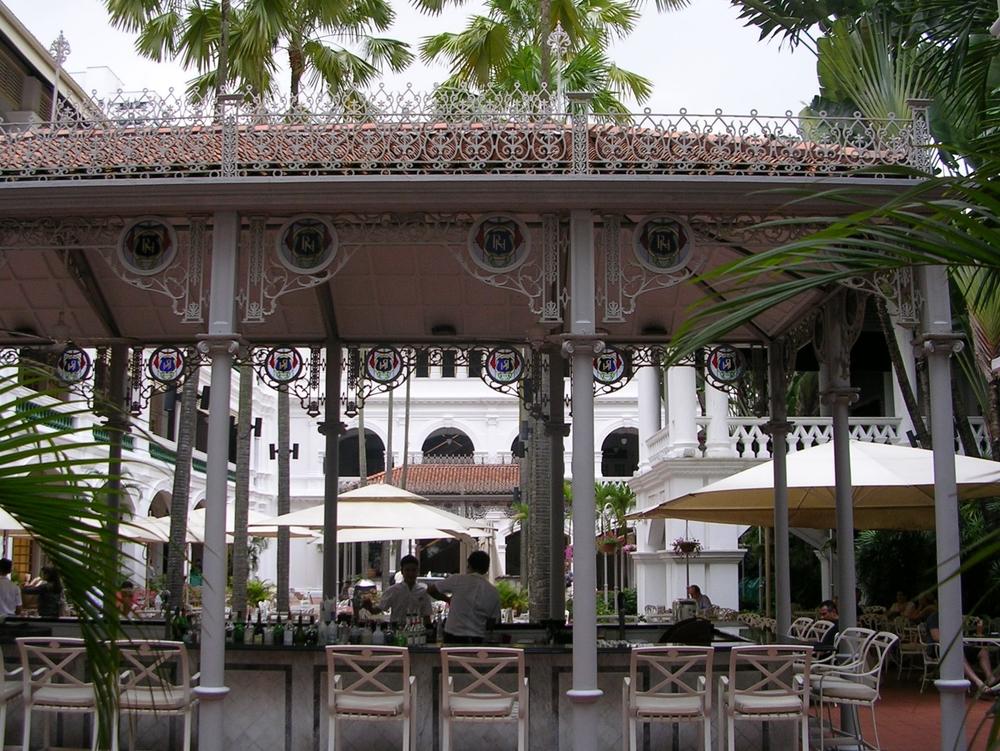 Palm Court, Raffles Hotel, Singapore