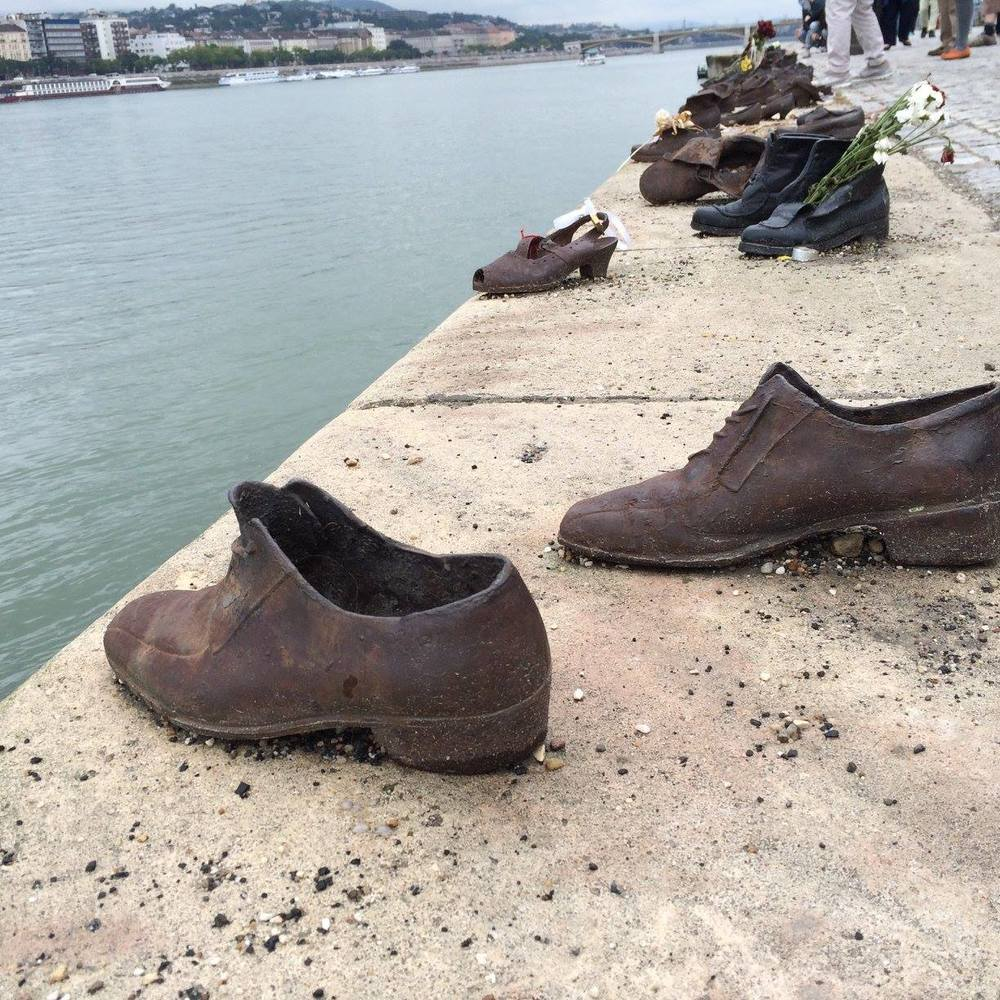 Shoes on the Danube, Budapest by Teresa Amey for The Doubtful Traveller