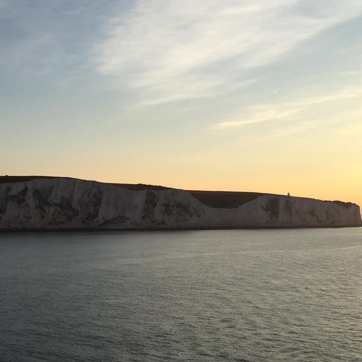 White Cliffs of Dover, England by Kevin Nansett for The Doubtful Traveller