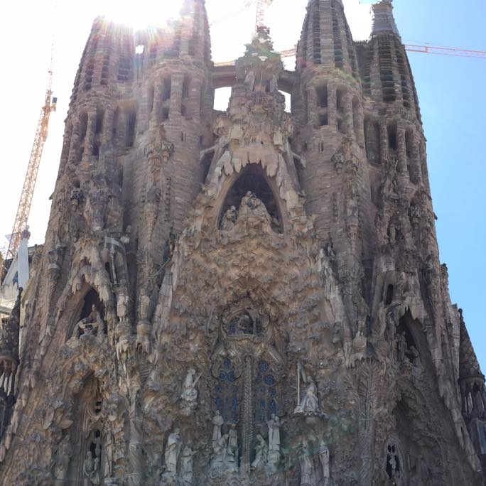 Sagrada Familia, Barcelona by Kevin Nansett for The Doubtful Traveller