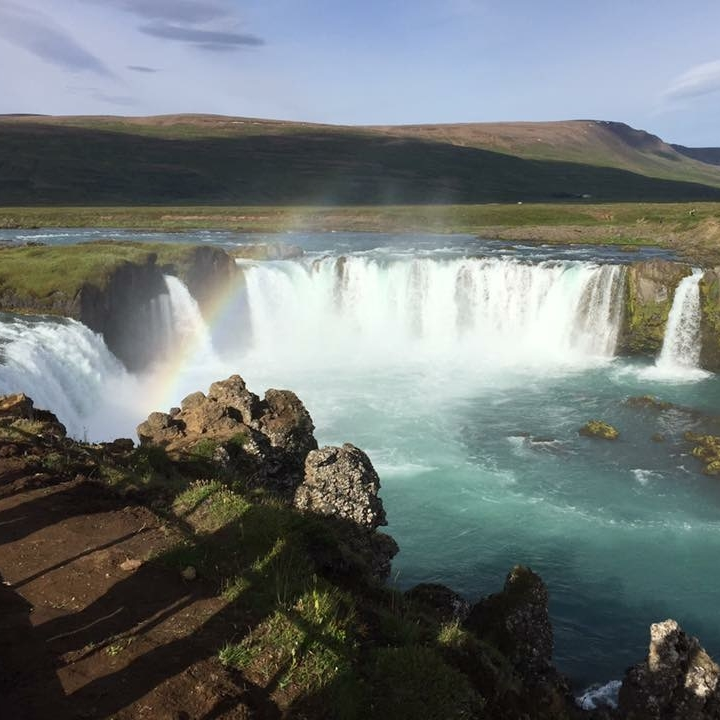 Godafoss, Iceland by Kevin Nansett for The Doubtful Traveller