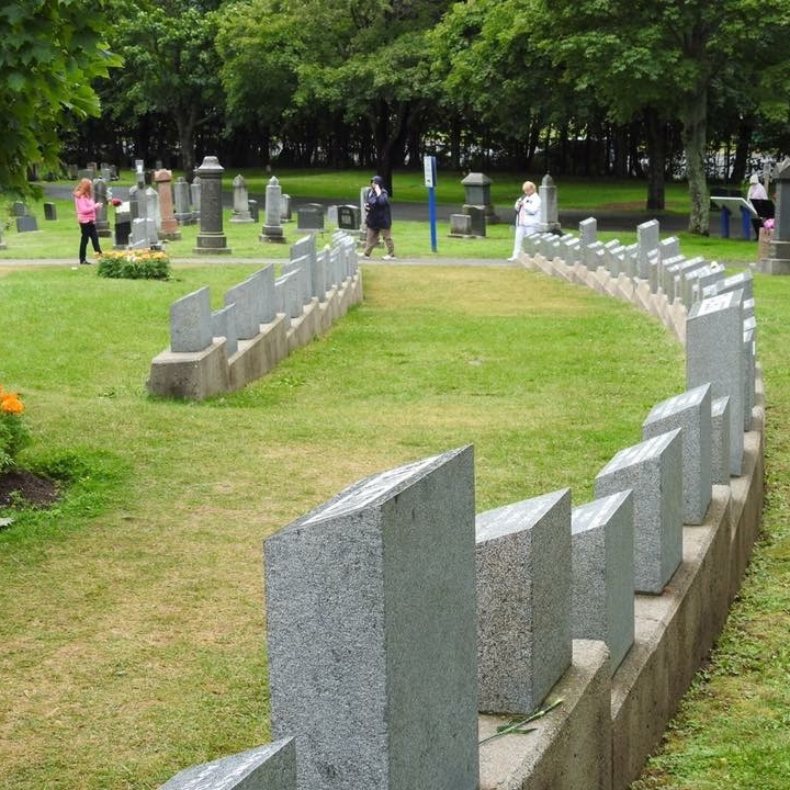 Titantic cemetery, Halifax, Canada by Kevin Nansett for The Doubtful Traveller