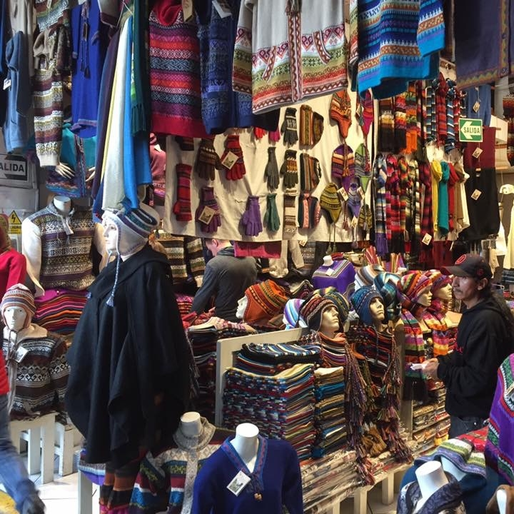 Markets, Lima by Kevin Nansett for The Doubtful Traveller