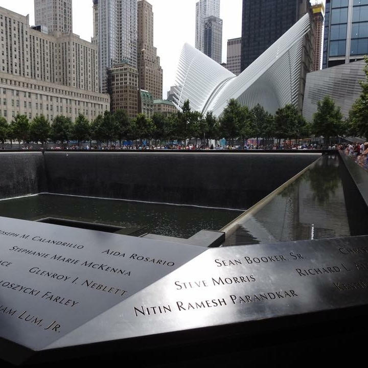 9/11 Memorial, New York by Kevin Nansett for The Doubtful Traveller