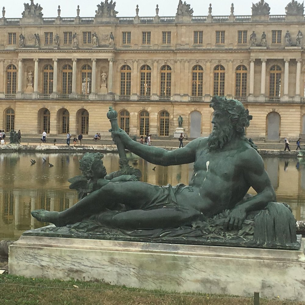 Versailles near Paris by The Doubtful Traveller