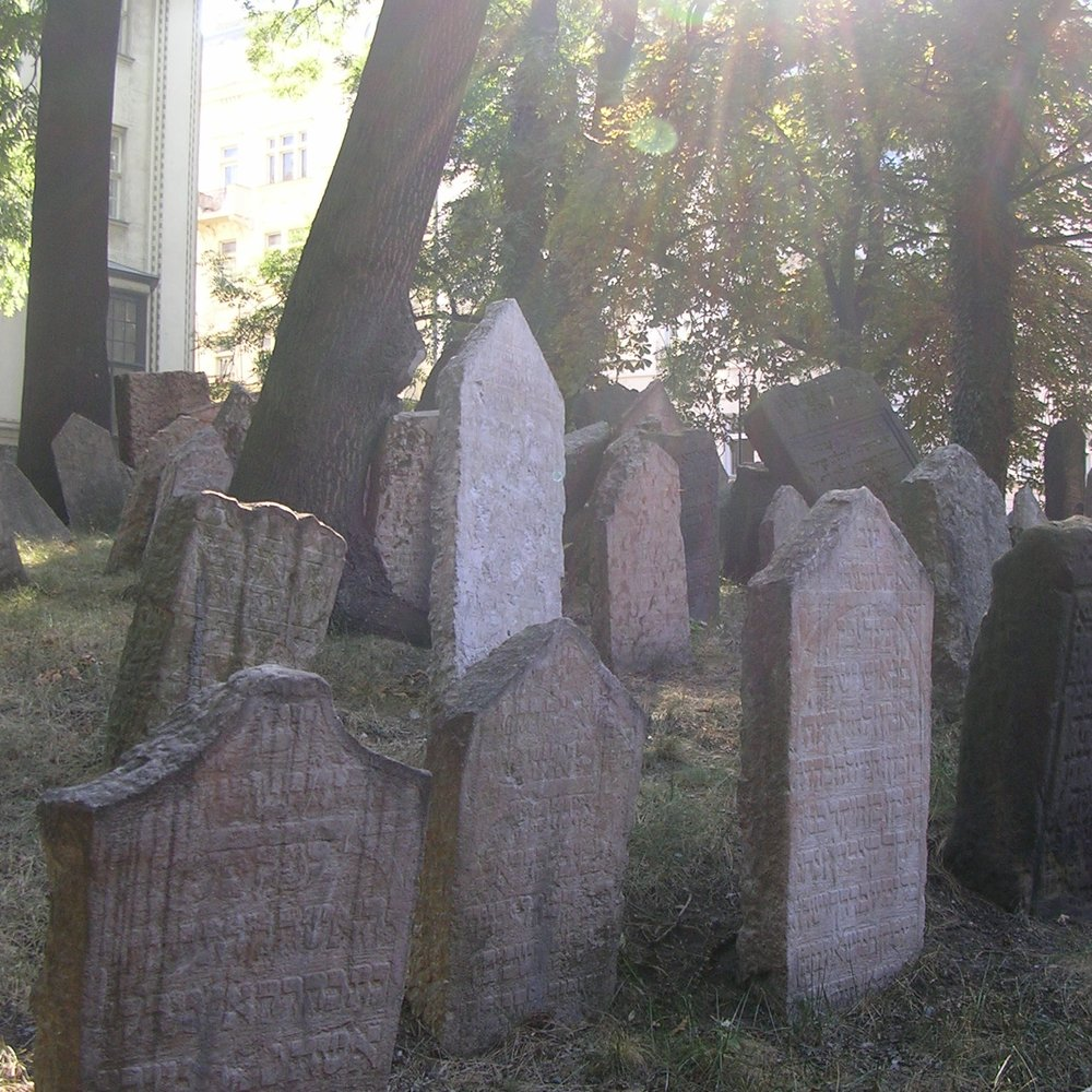 Cemetery at the Jewish Museum, Prague by The Doubtful Traveller