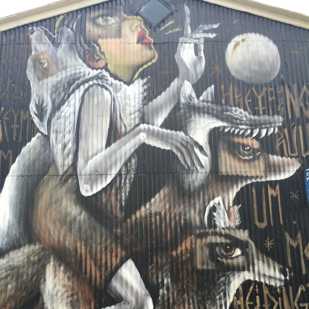 Street art, Reykjavik by The Doubtful Traveller