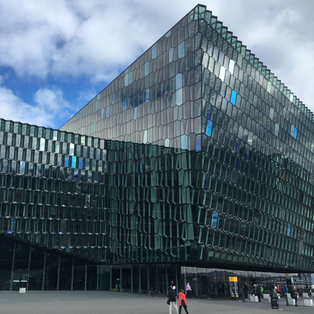 Harpa, Reykjavik by The Doubtful Traveller