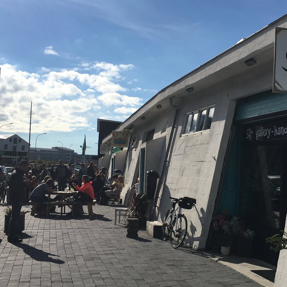Boutiques at the waterfront, Reykjavik by The Doubtful Traveller