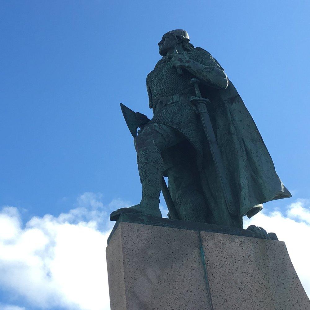 Leifur Eiriksson, Reykjavik by The Doubtful Traveller